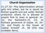church organization2