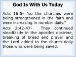 god is with us today2
