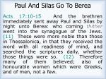 paul and silas go to berea