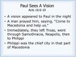 paul sees a vision acts 16 6 10