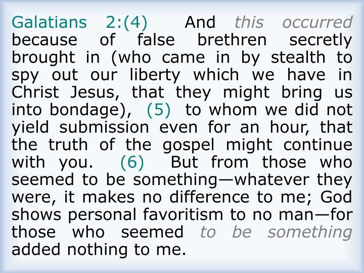 Galatians 2