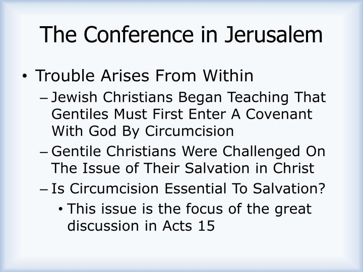 The Conference in Jerusalem
