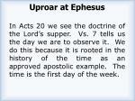 uproar at ephesus1