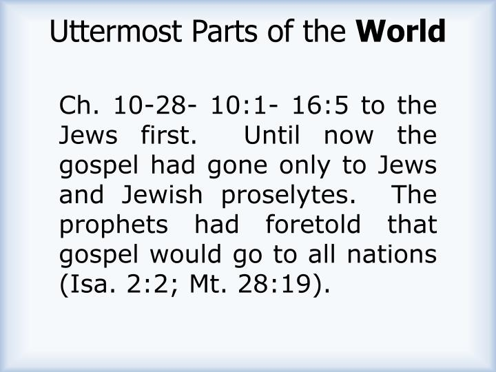 Uttermost Parts of the