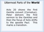 uttermost parts of the world1