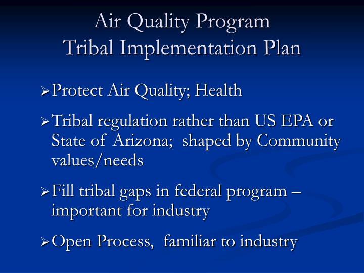 Air Quality Program