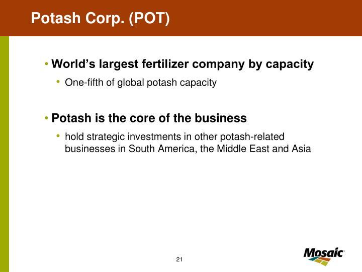 Potash Corp. (POT)