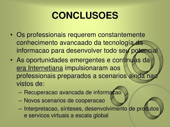CONCLUSOES
