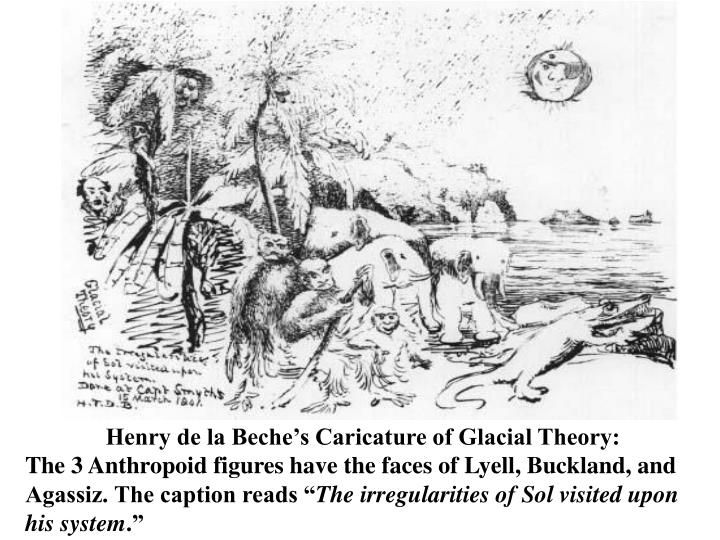 Henry de la Beche's Caricature of Glacial Theory: