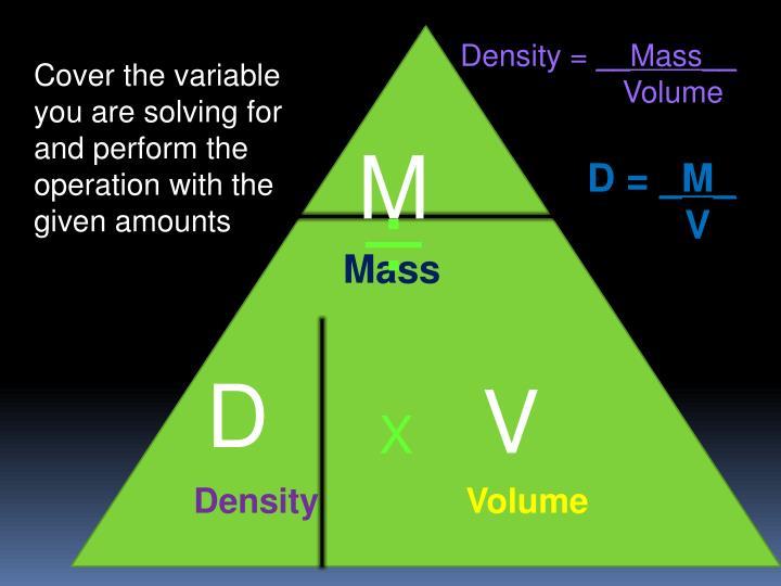 Density =