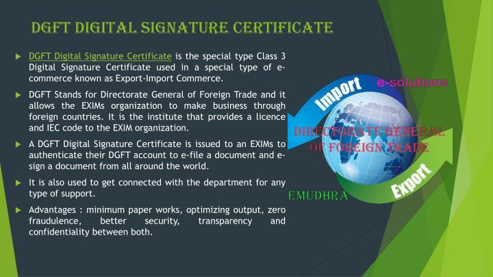 how to get digital signature for iec