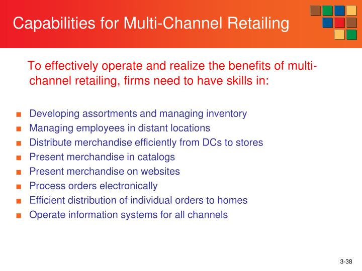 Capabilities for Multi-Channel Retailing