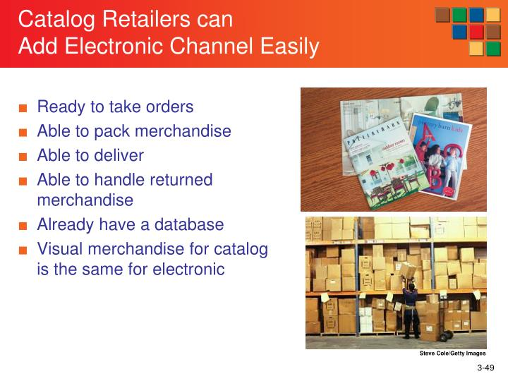 Catalog Retailers can