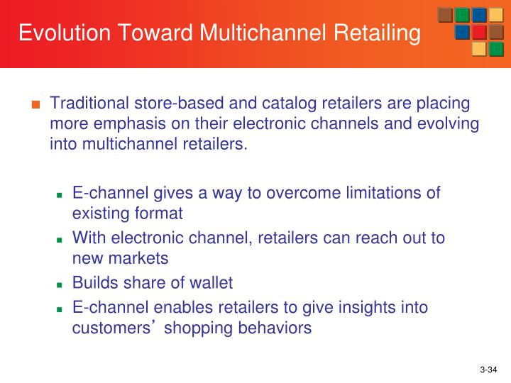 Evolution Toward Multichannel Retailing