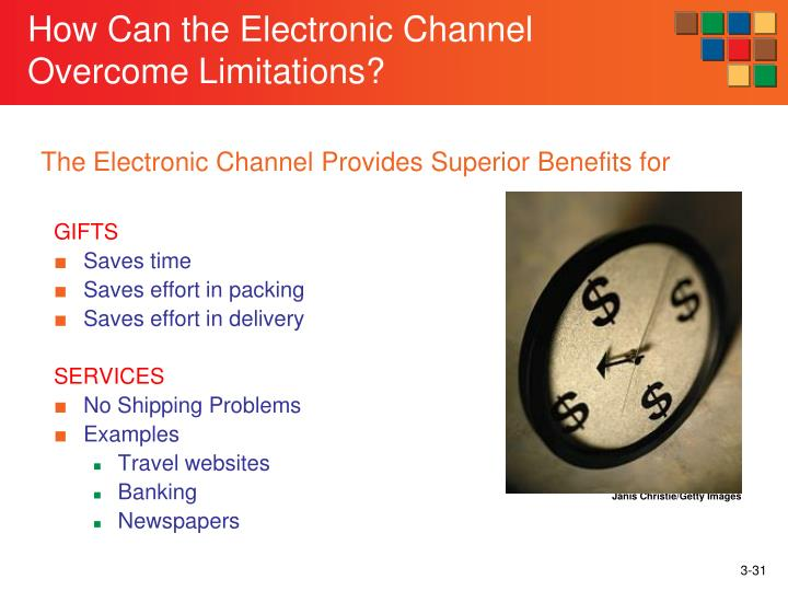 How Can the Electronic Channel Overcome Limitations?
