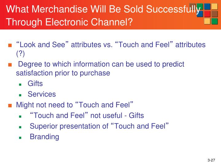 What Merchandise Will Be Sold Successfully