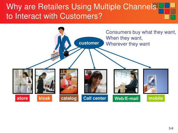Why are Retailers Using Multiple Channels