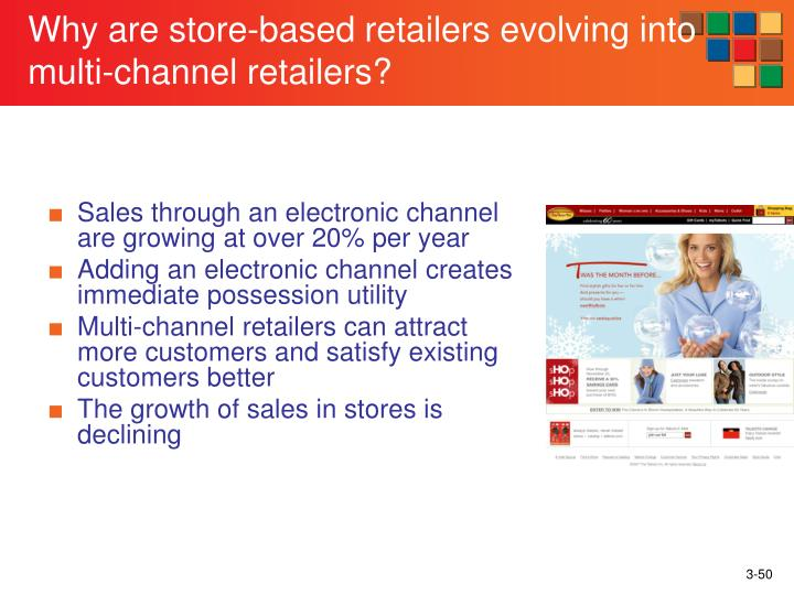 Why are store-based retailers evolving into multi-channel retailers?