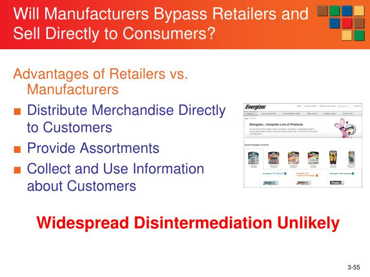 Will Manufacturers Bypass Retailers and Sell Directly to Consumers?
