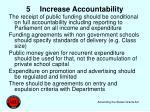 5 increase accountability