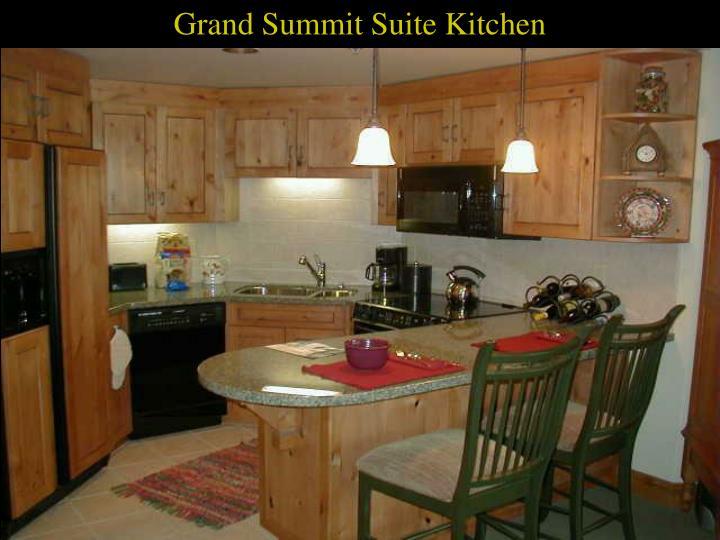 Grand Summit Suite Kitchen