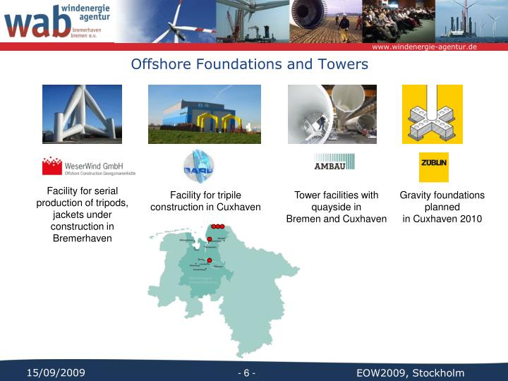 Offshore Foundations and Towers
