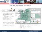 the next step cluster germanwind