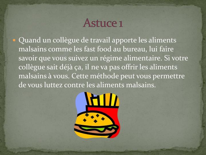 Astuce 1