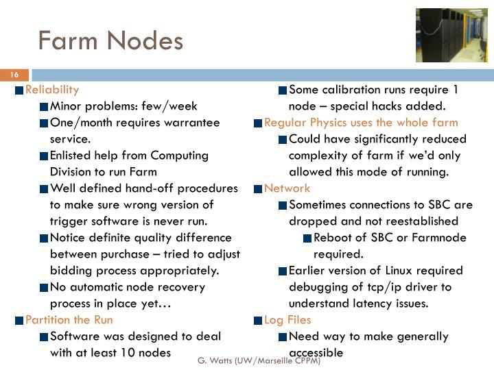 Farm Nodes