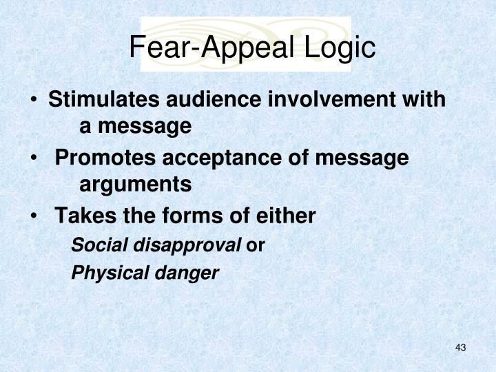 Fear-Appeal Logic