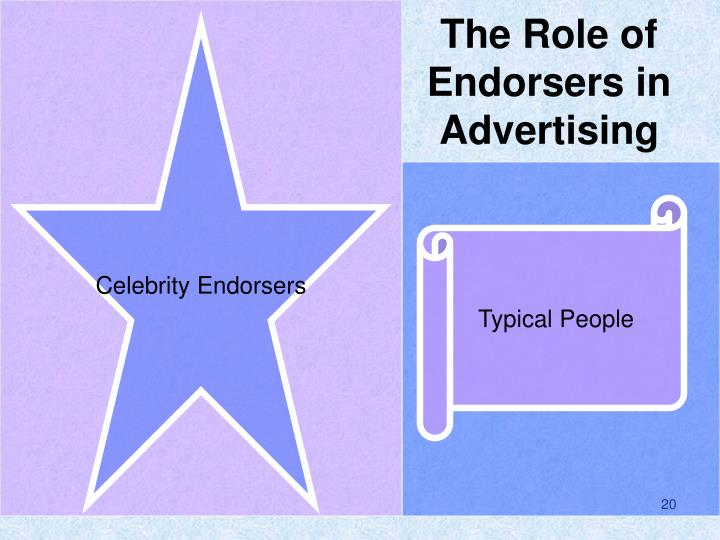 The Role of Endorsers in Advertising