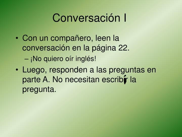 Conversaci