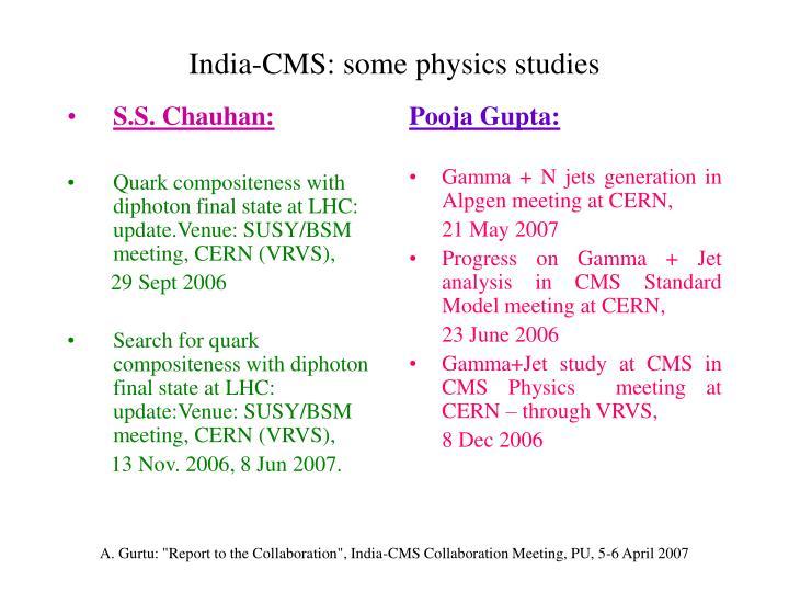 S.S. Chauhan: