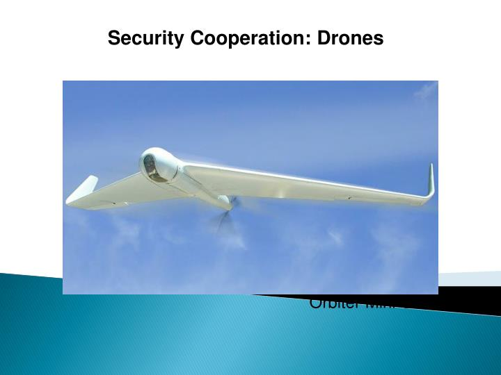 Security Cooperation: Drones