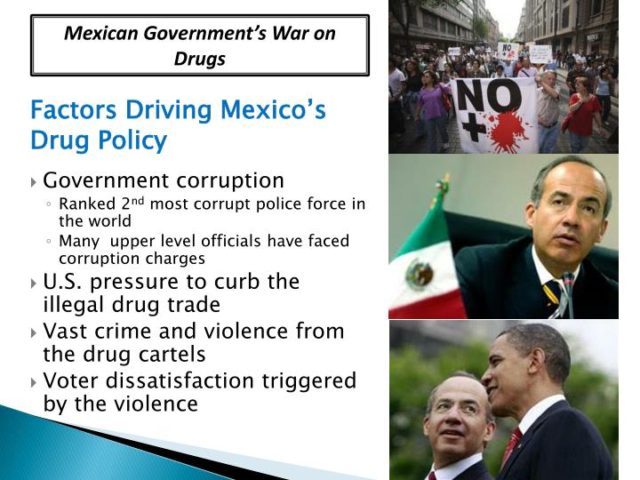 Mexican Government's War on Drugs