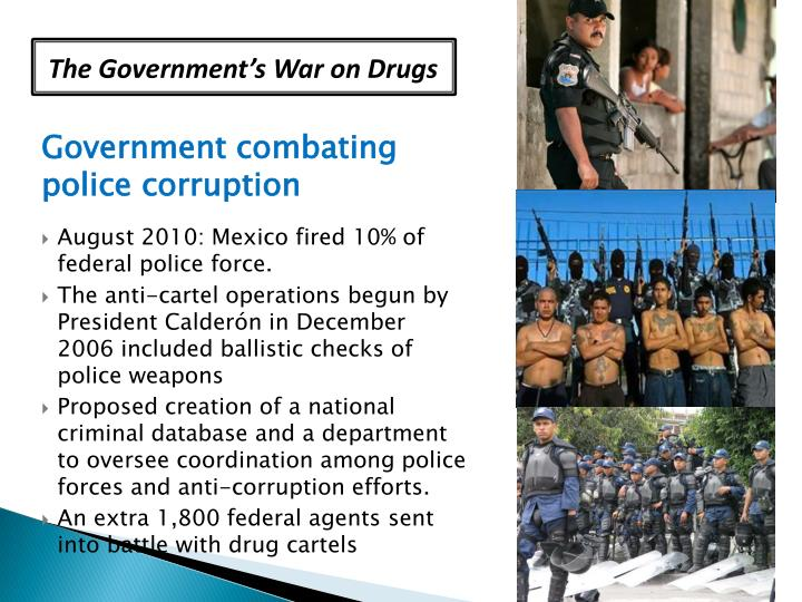 The Government's War on Drugs