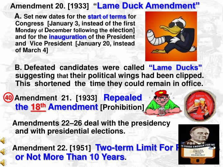 Amendment 20. [1933]  ""