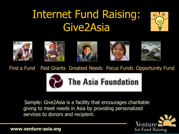 Internet Fund Raising: