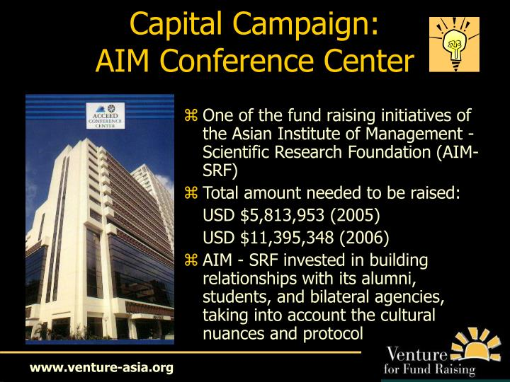 Capital Campaign: