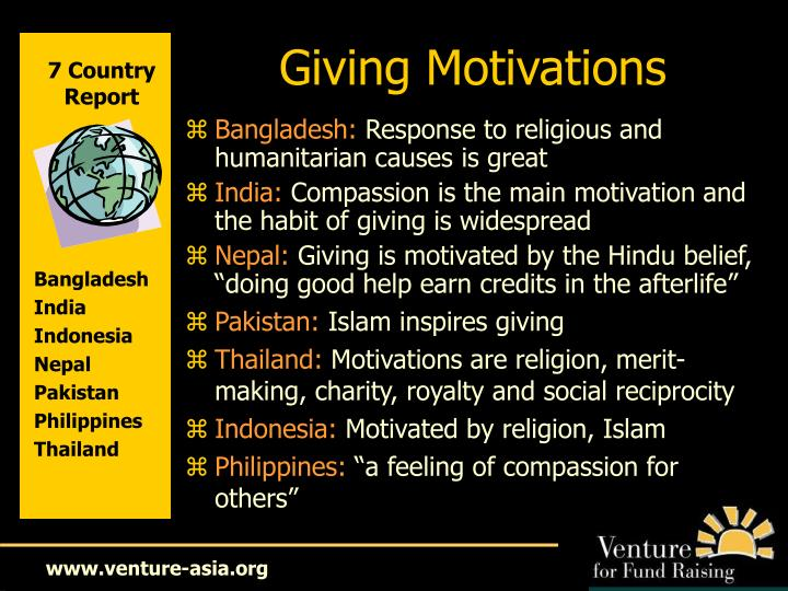 Giving Motivations