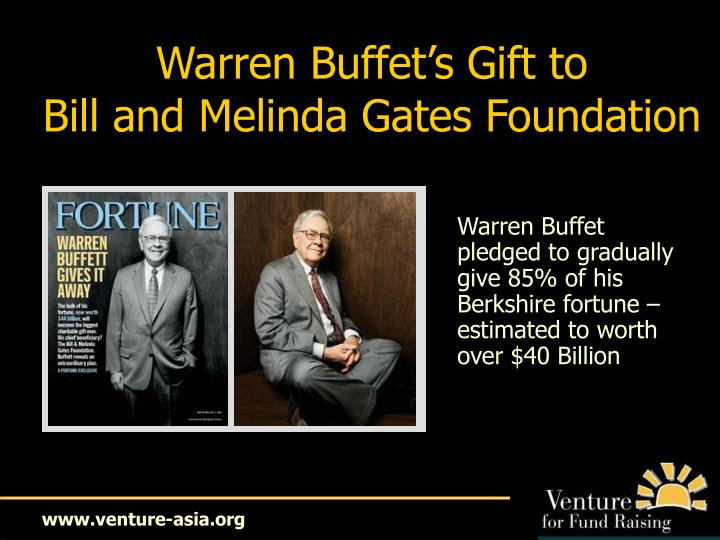 Warren Buffet's Gift to