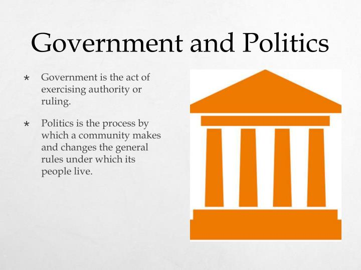 Government and Politics