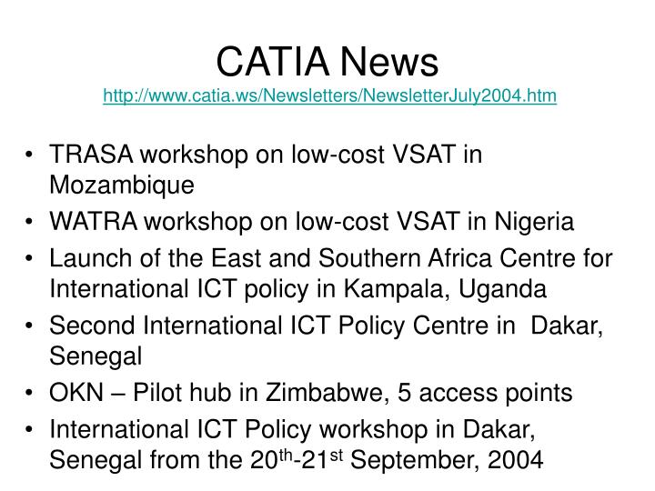 CATIA News