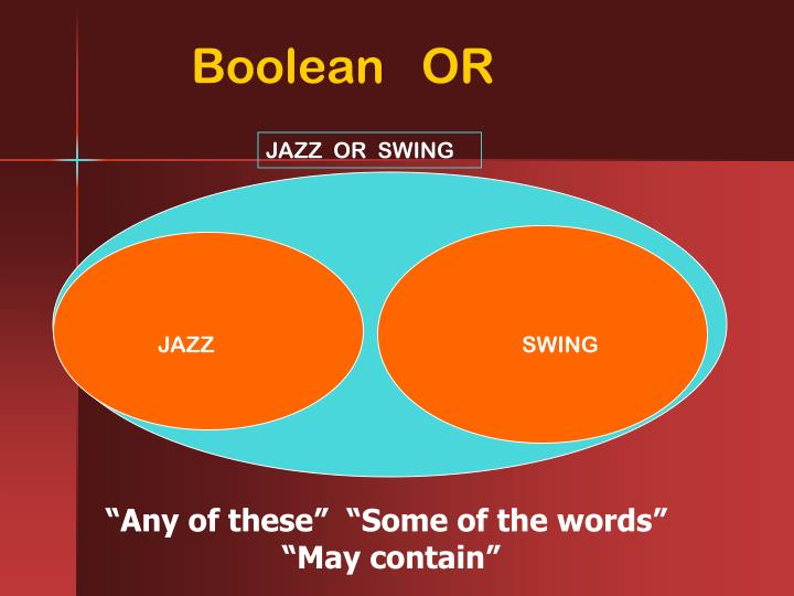 Boolean   OR