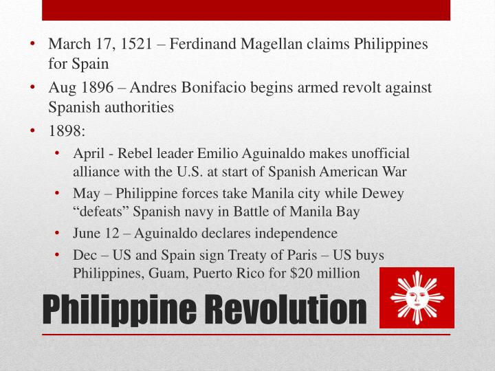 March 17, 1521 – Ferdinand Magellan claims Philippines for Spain