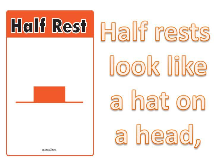 Half rests