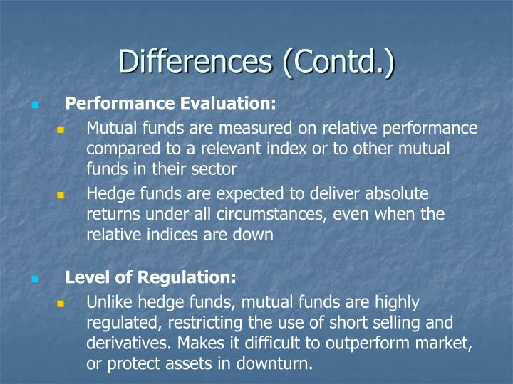 Differences (Contd.)