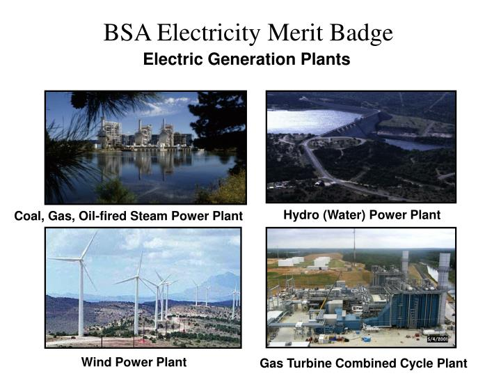 Electric Generation Plants