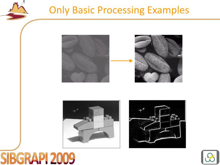 Only Basic Processing Examples