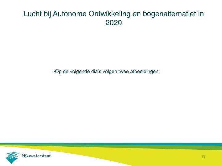 Lucht bij Autonome Ontwikkeling en bogenalternatief in 2020